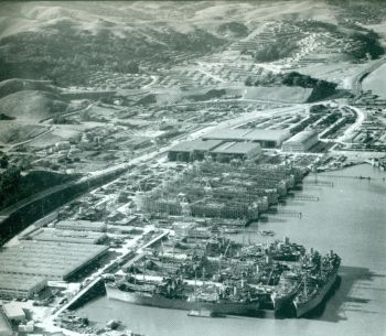 Marinship and Marin City 1942