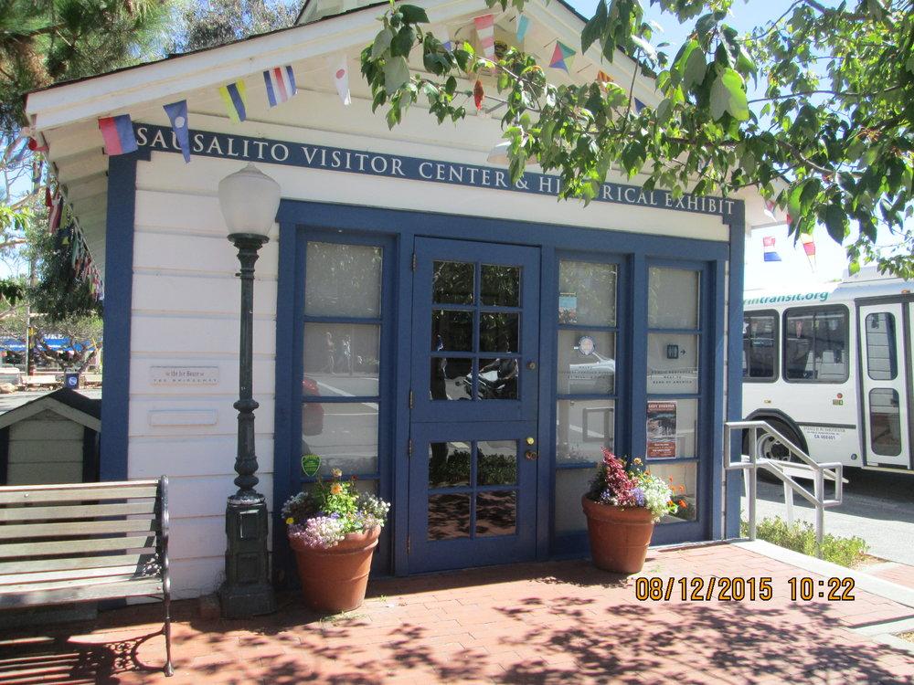 Sausalito's Ice House, at 780 Bridgeway.   Photo by Steefenie Wicks