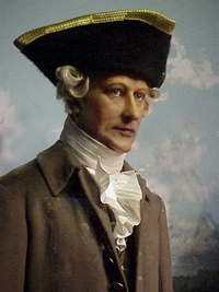Captain George Vancouver, in full regalia      Courtesy Photo