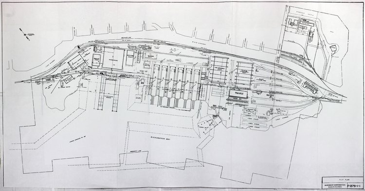 Blue Print for Marinship