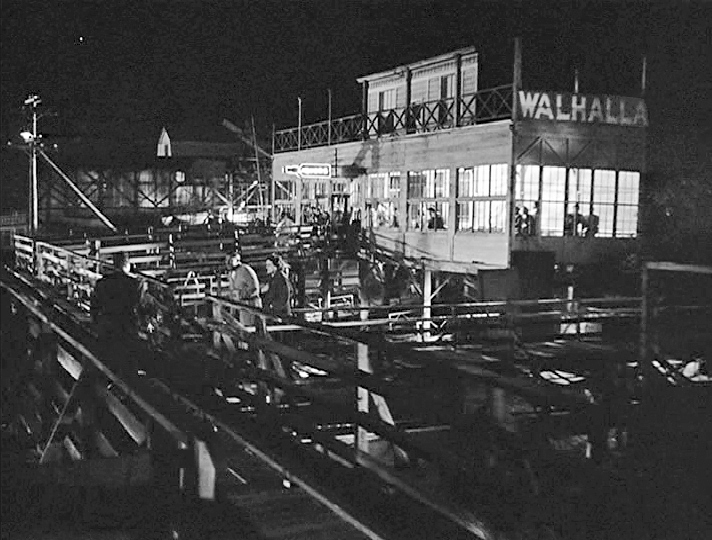 The old Walhalla at night    Courtesy Photo