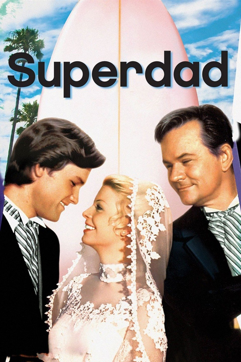 """Superdad"" poster featuring Kurt Russell, Kathleen Cody and Bob Crane. Source: IMDb"