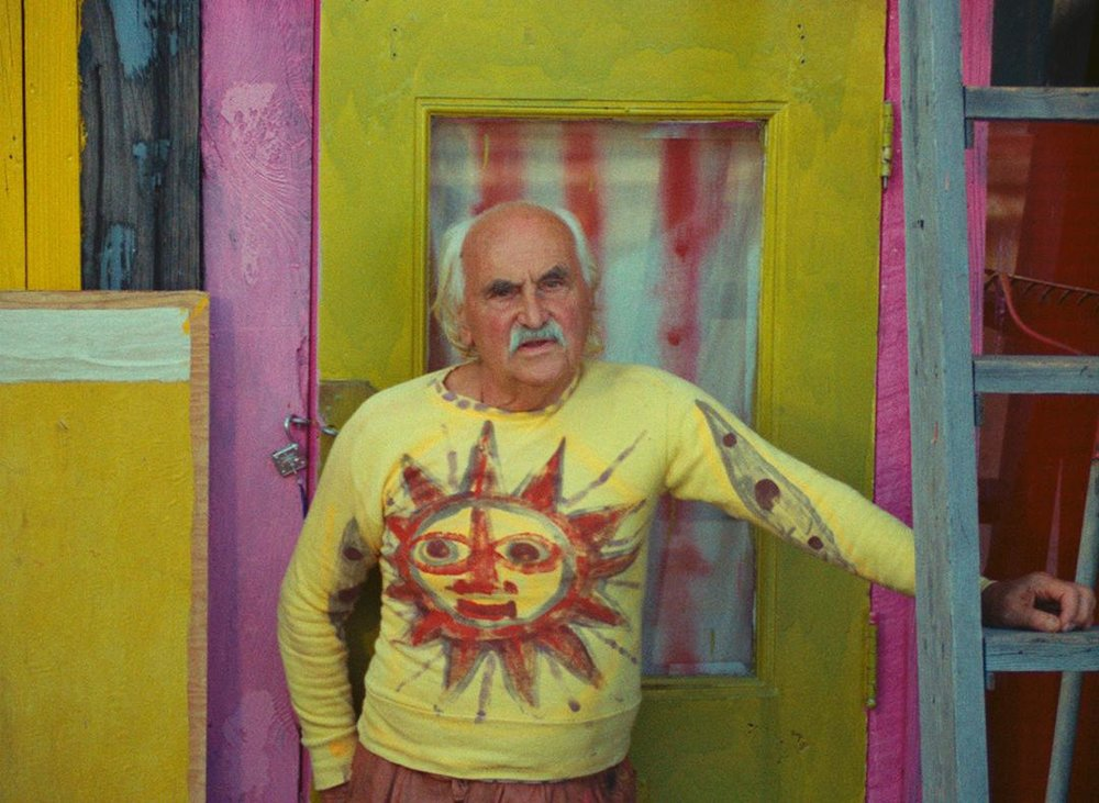 "Jean Varda in ""Uncle Yanco.""  The Boston Globe"