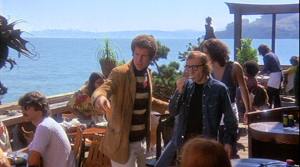 PHOTO FROM MOVIE-TOURIST.BLOGSPOT  Woody Allen and Tony Roberts visit the Trident
