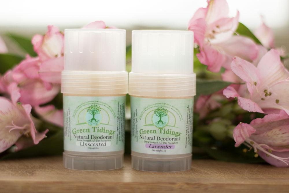 Green Tidings Natural Deodorant Review