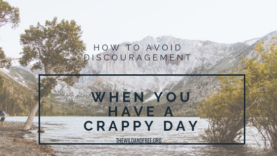 Avoid Discouragement When You Have A crappy day. Tips on changing your attitude for the better when things don't go your way. How to get a better attitude is something that we all need to know. Check out these tips to learn how.jpg