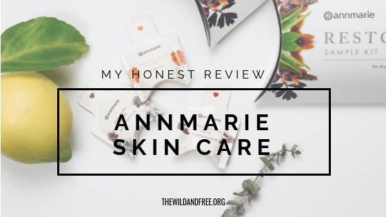 My Honest Review of Annmarie Skin Care Natural skincare review