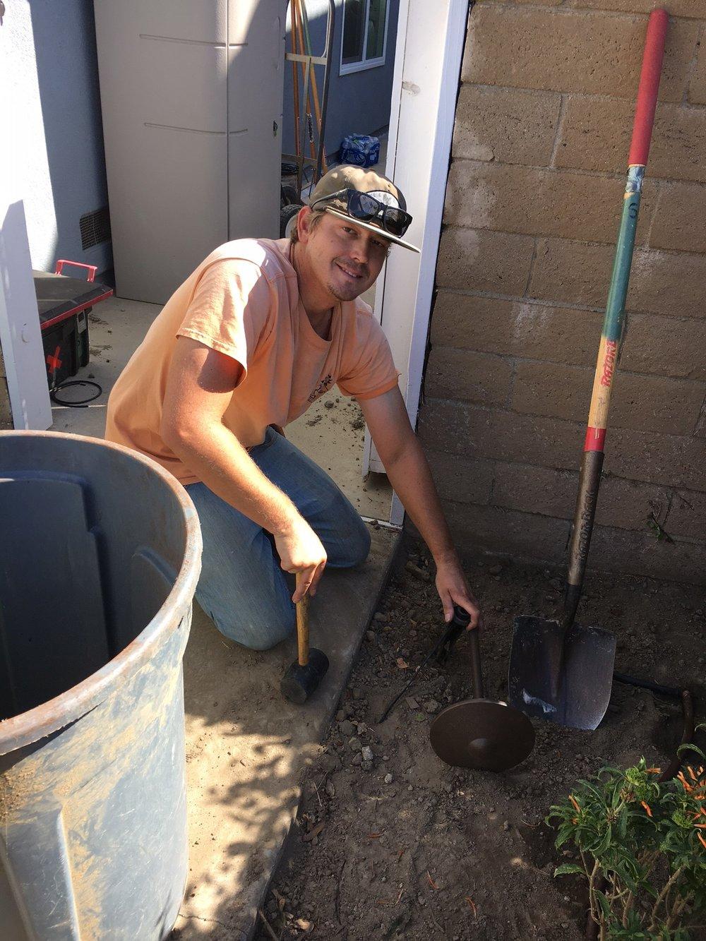 Jeff Emmerson  Landscape Technician