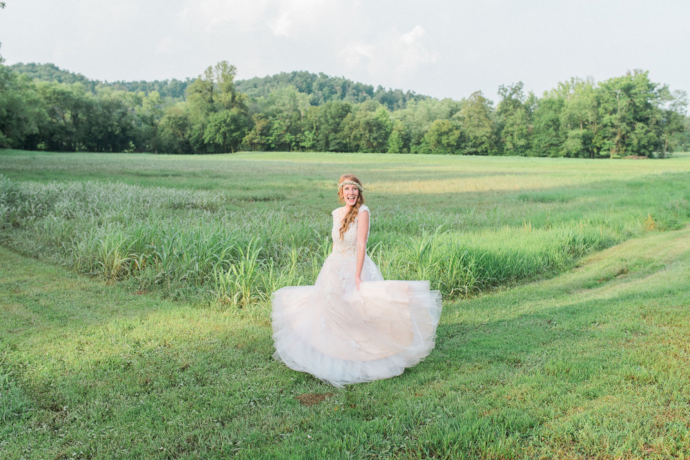 Me and my wedding dress!! This photo was taken by the very talented Julie Paisley Photography!