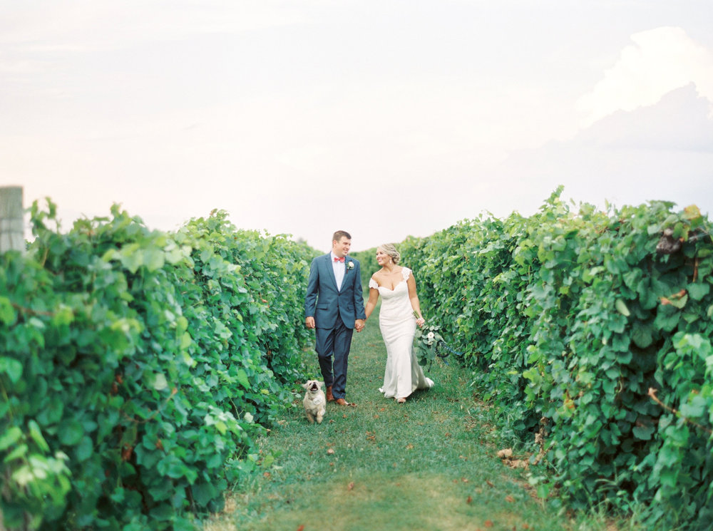 Brittney + Matthew | Talon Winery Wedding