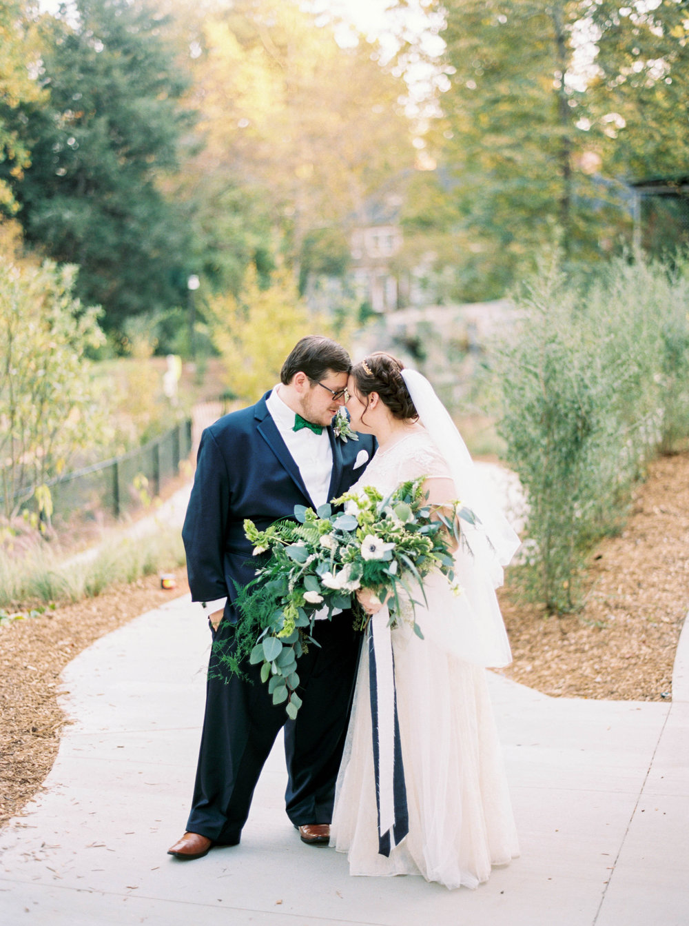 Dawn + Matthew | Fernbank Museum Wedding, Atlanta