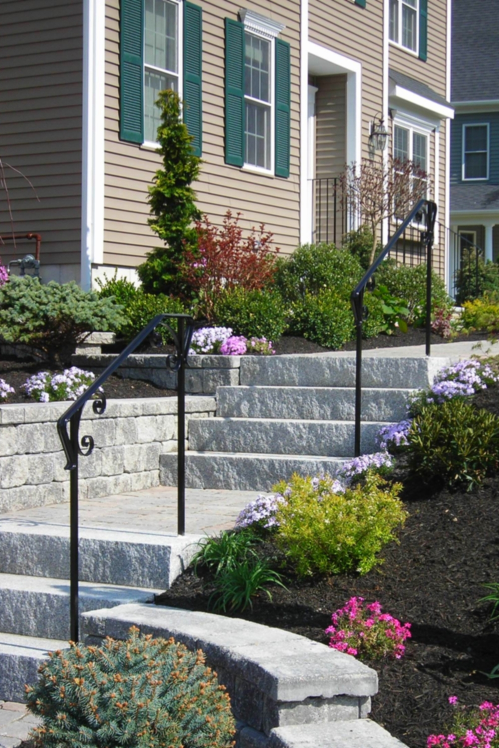 Picket-Less Railings with Decorative Scrolls