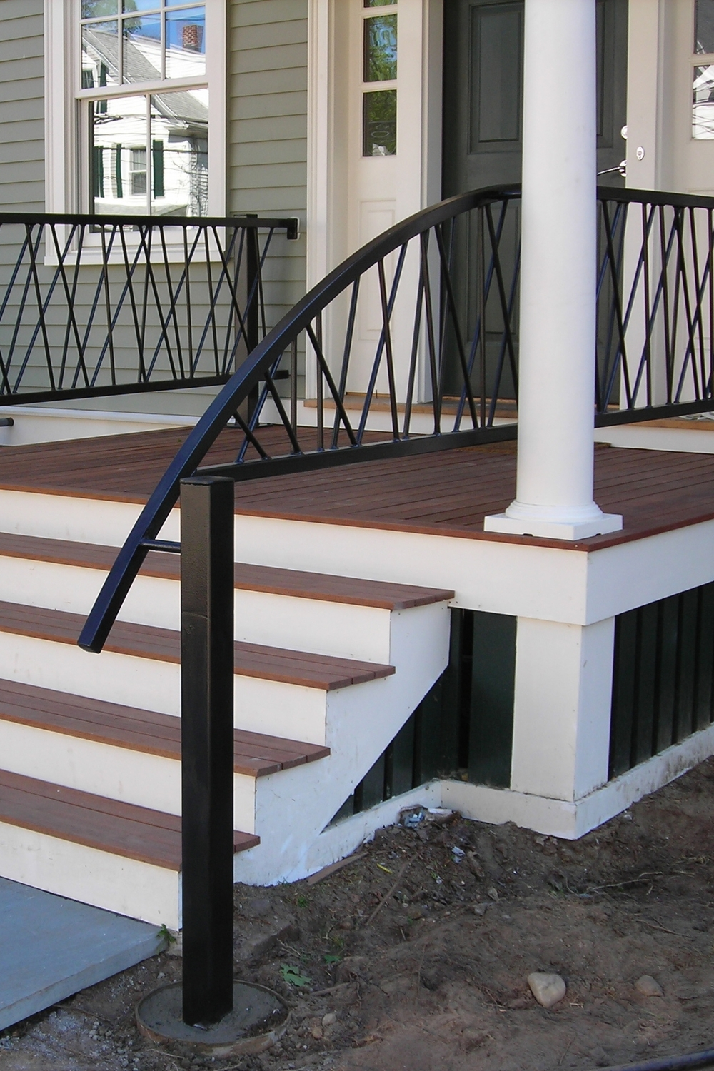 Unique Front Step Railings