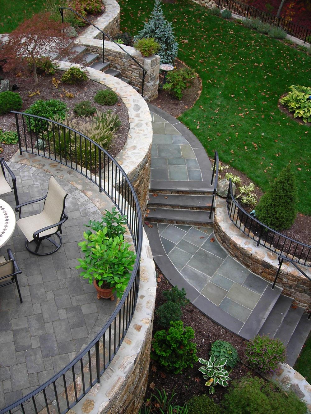 Top View of Custom Railings