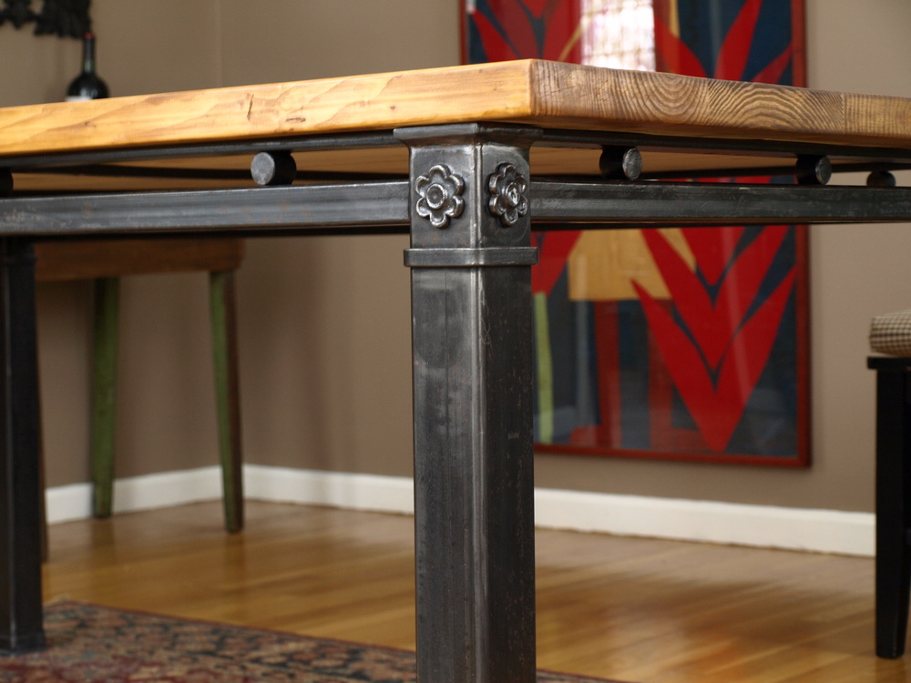 Detail, Custom Dining Table