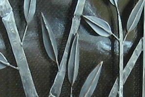 Bamboo Firescreen Detail