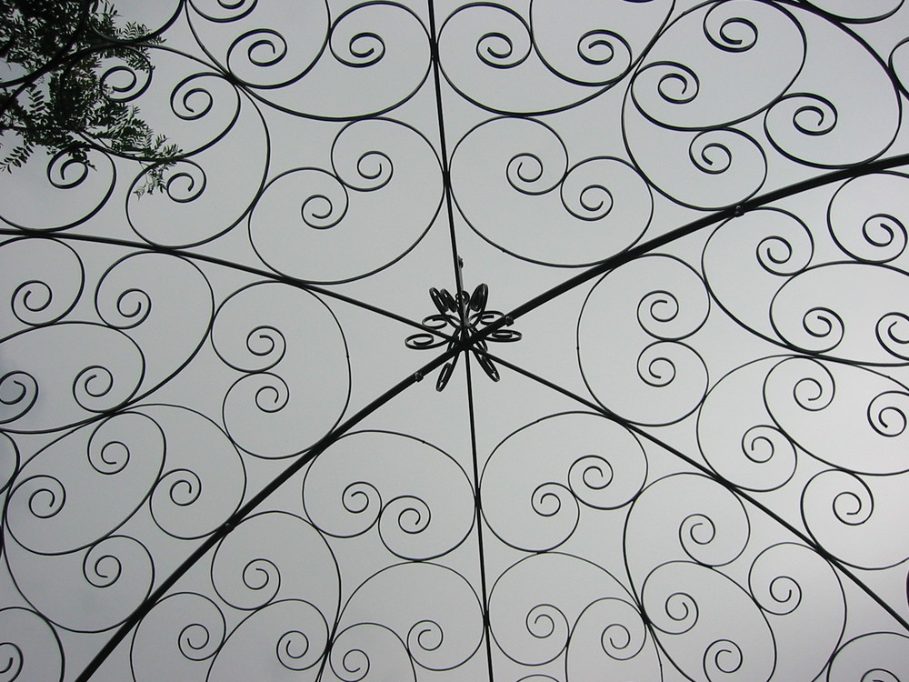 Gazebo Detail from Below