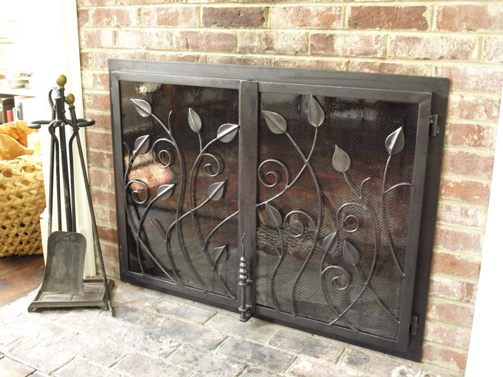 fireplace screens u2014 amaral industries inc