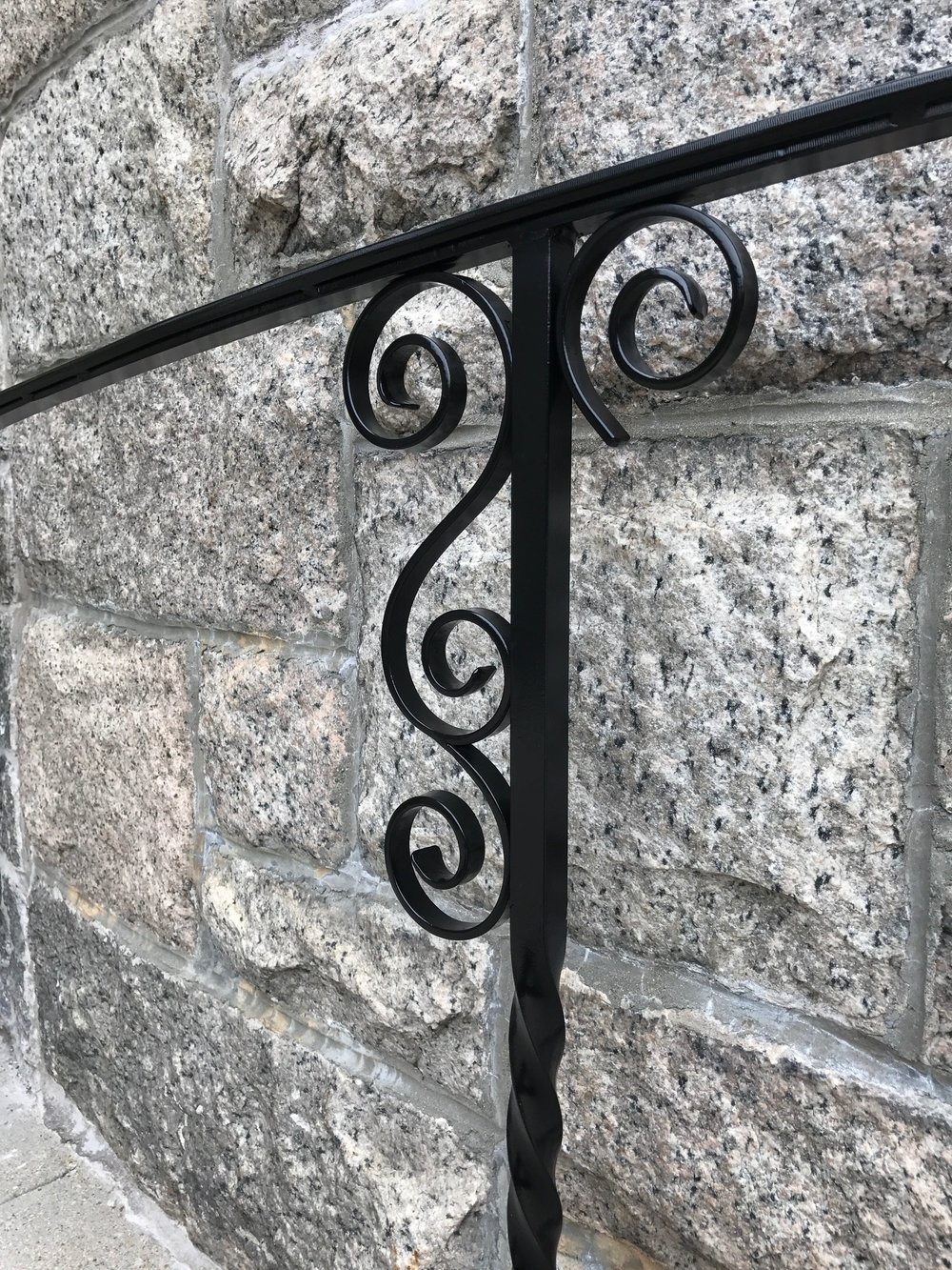 Church Railngs, Detail