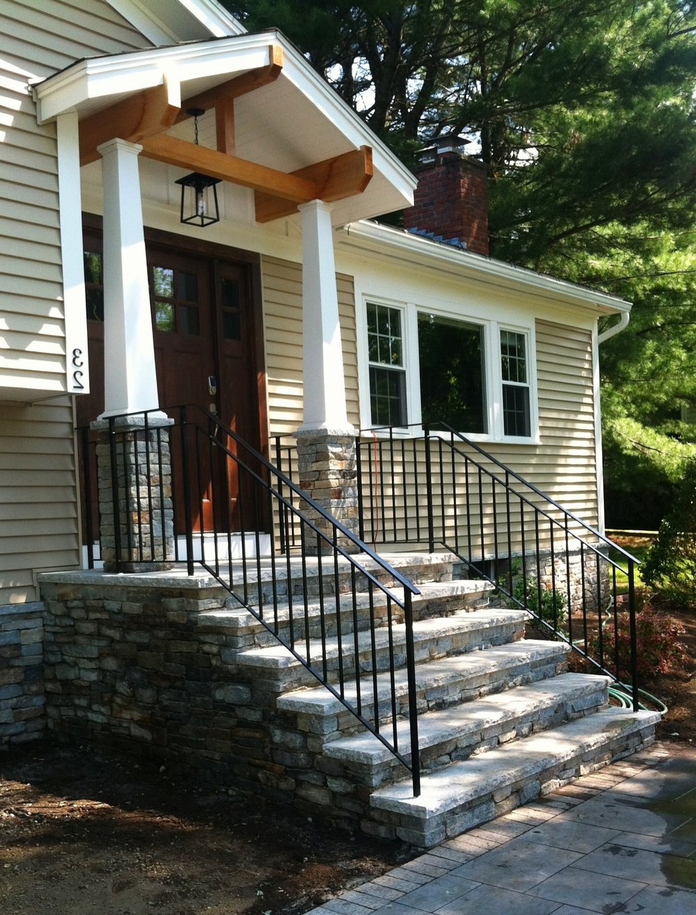 Craftsman-Style Railings