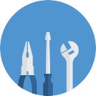 general maintenance and repairs icon