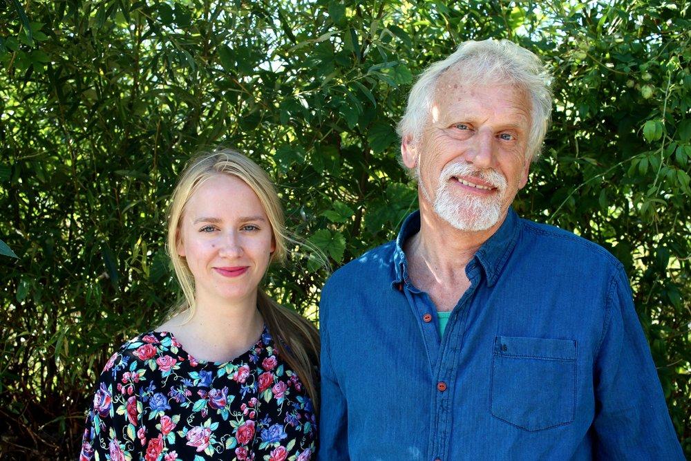 Leonie Roukens en Gerrit Roukens