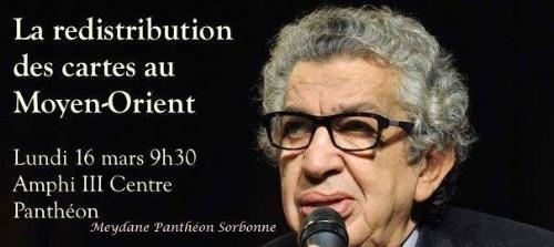 16 mars 2016    Organisée par Meydane Panthéon-Sorbonne