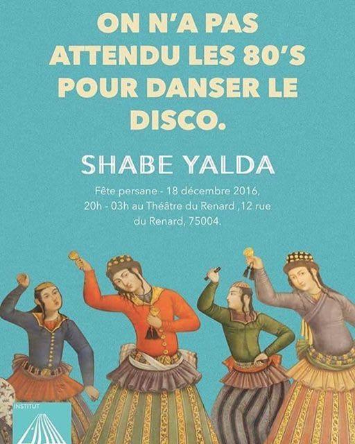 3ème édition de Shabe Yalda le 18 décembre 2016.