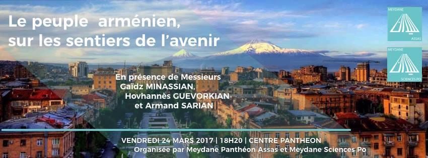 Le 24 mars 2017    Organisée par Meydane SciencesPo et Meydane Assas
