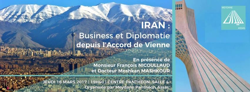 Le 16 mars 2017    Organisée par Meydane Panthéon-Sorbonne