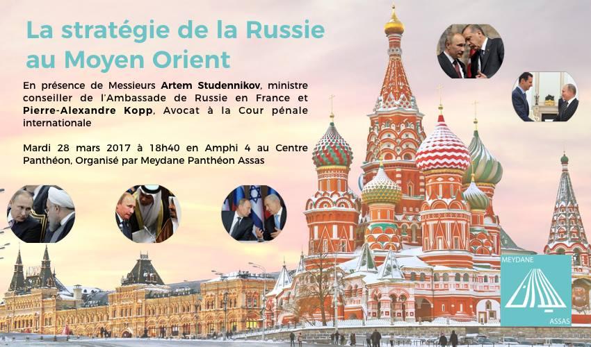 Le 28 mars 2017    Organisée par Meydane Panthéon-Assas