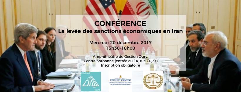 Le 20 décembre 2017    Organisée par Meydane Panthéon-Assas