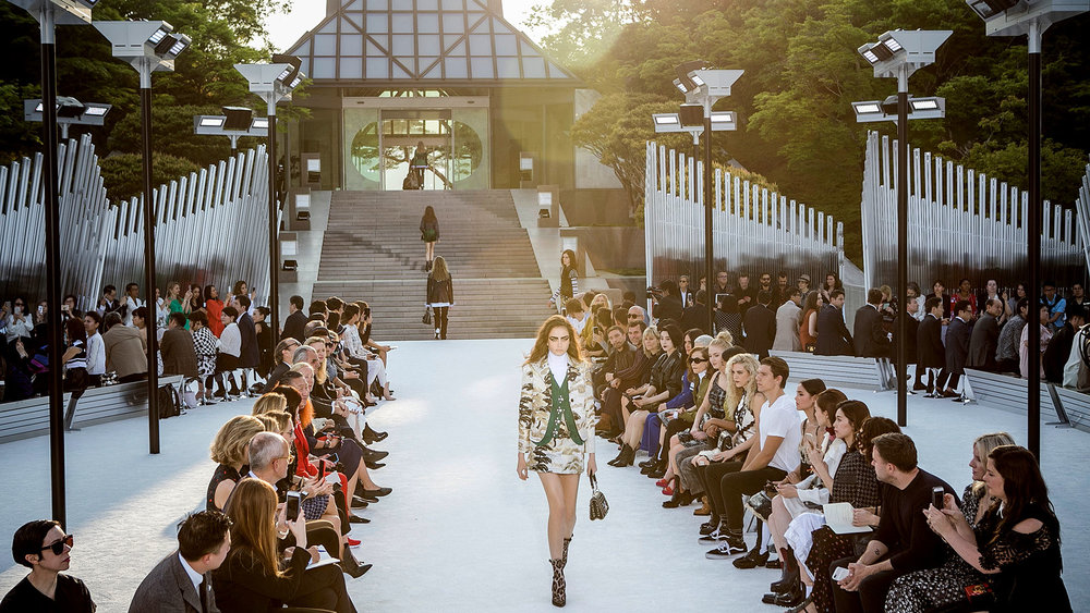 Louis Vuitton Cruise 2017 Show  Miho Museum Kyoto, Japan