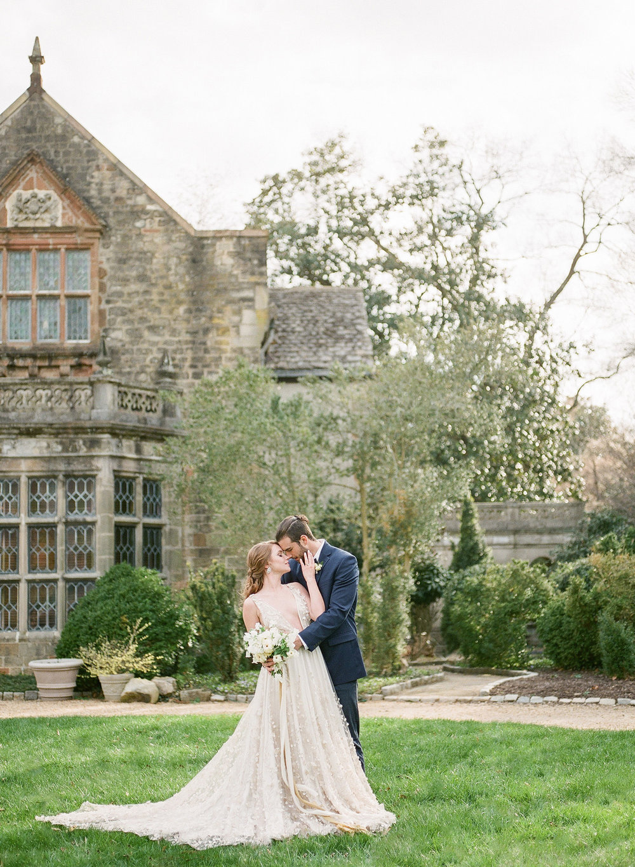 OLD WORLD STYLE WEDDING AT VIRGINIA HOUSE