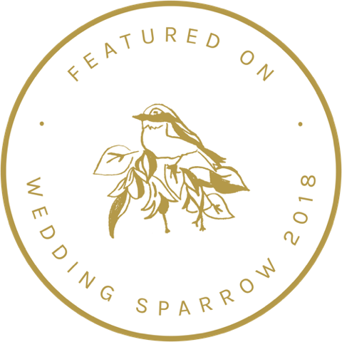 Wedding sparrow feature logo
