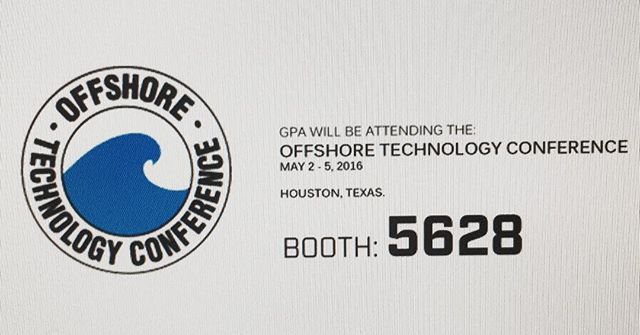GPA will be attending the 2016 Offshore Technology Conference next week. Be sure to stop by booth: 5628 #offshoretechnologyconference #marineengineer #navalarchitecture #shipdesign