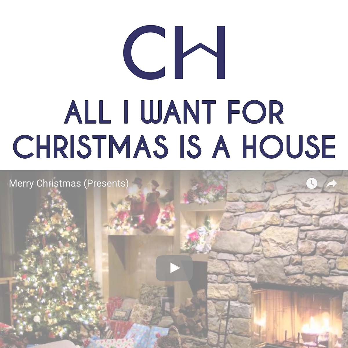 All I Want For Christmas Is a House — Columbest Homes