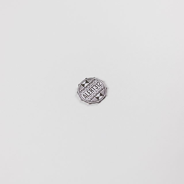 More new #JoyKingSupreme merch.⠀ Snag the ALERT312 Enamel Pin for %30 off + Link in bio