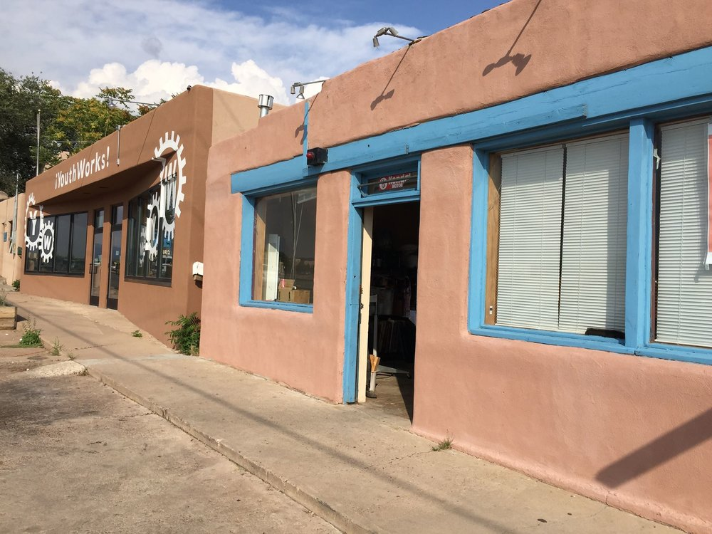 The new home of Santa Fe Community Screenprinting.