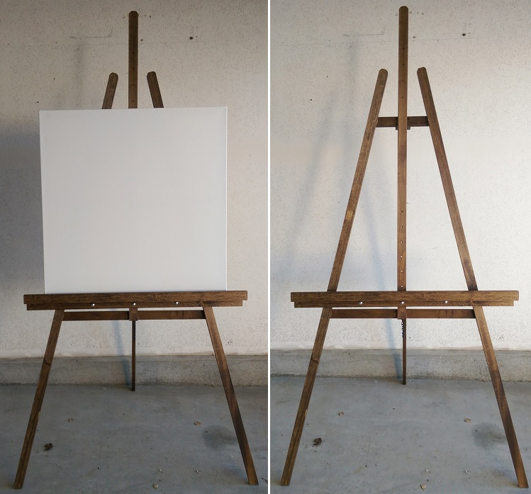 the easel that i made