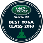 """Best Yoga Near Santa Fe"" December, 2017   Read the Article Here"