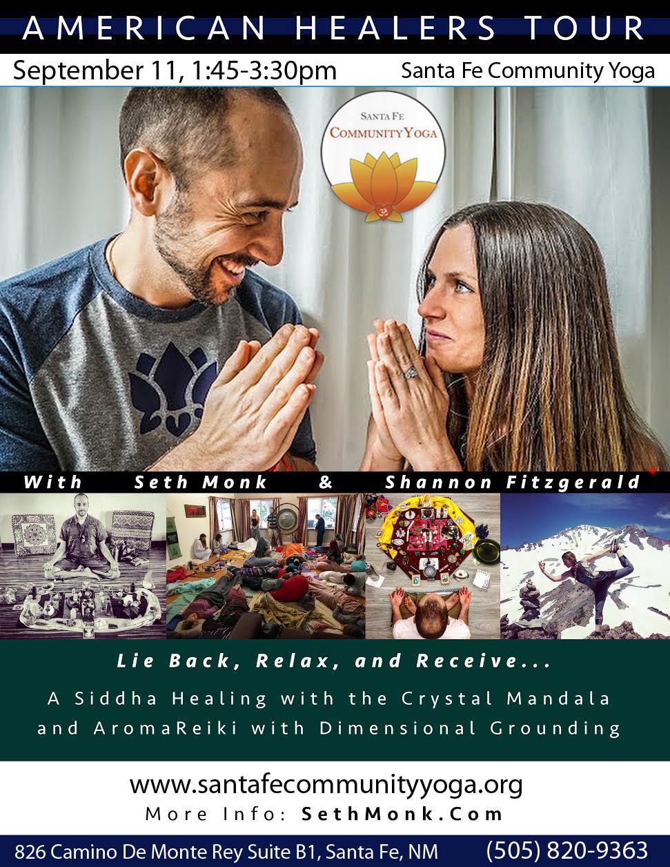 American Healers Tour, Santa Fe Comm Poster.jpg