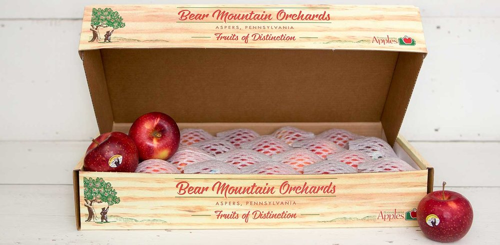 Bear Mountain Apples Gift Boxes