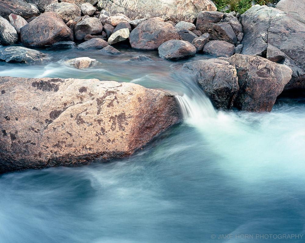 Stream at Titcomb Basin, WY | Ektar 100 | Tripod