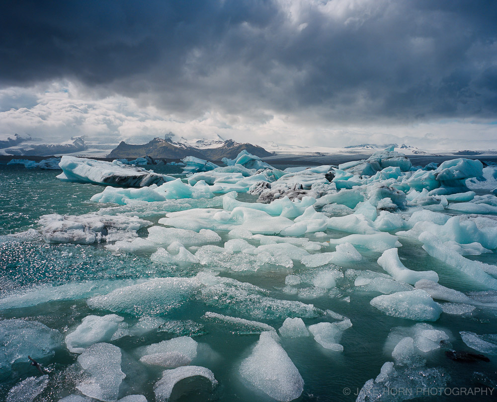 Jokulsarion Lagoon, Iceland |Portra 400 | Handheld