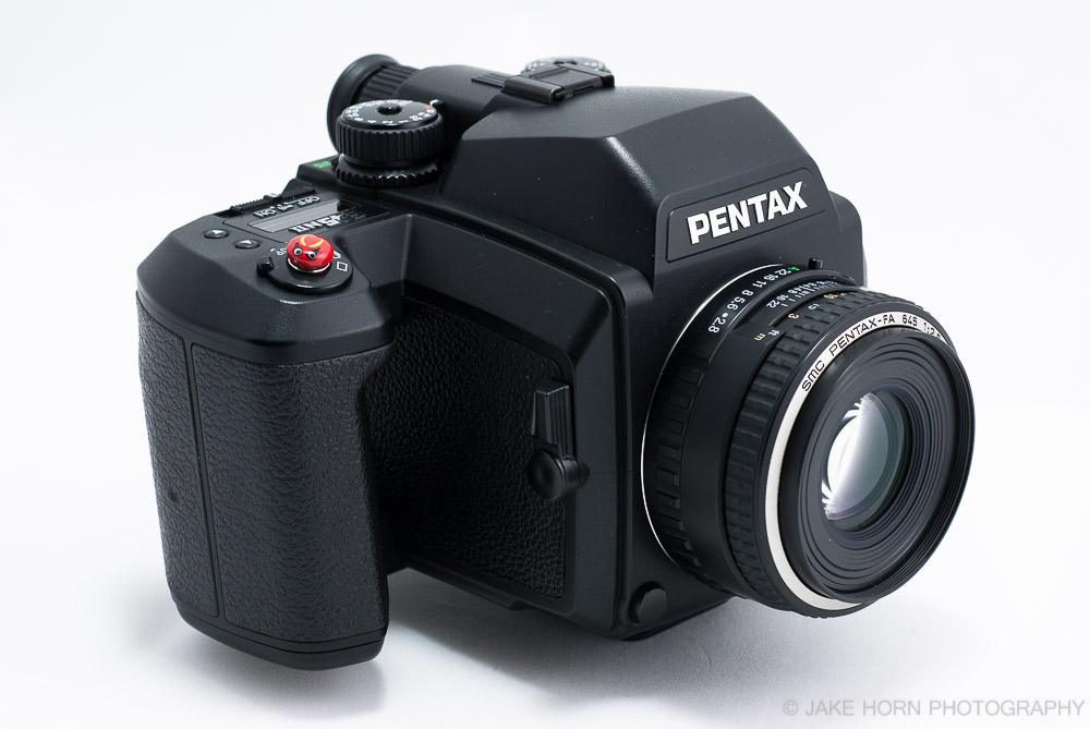 The Pentax 645NII w/75mm 2.8
