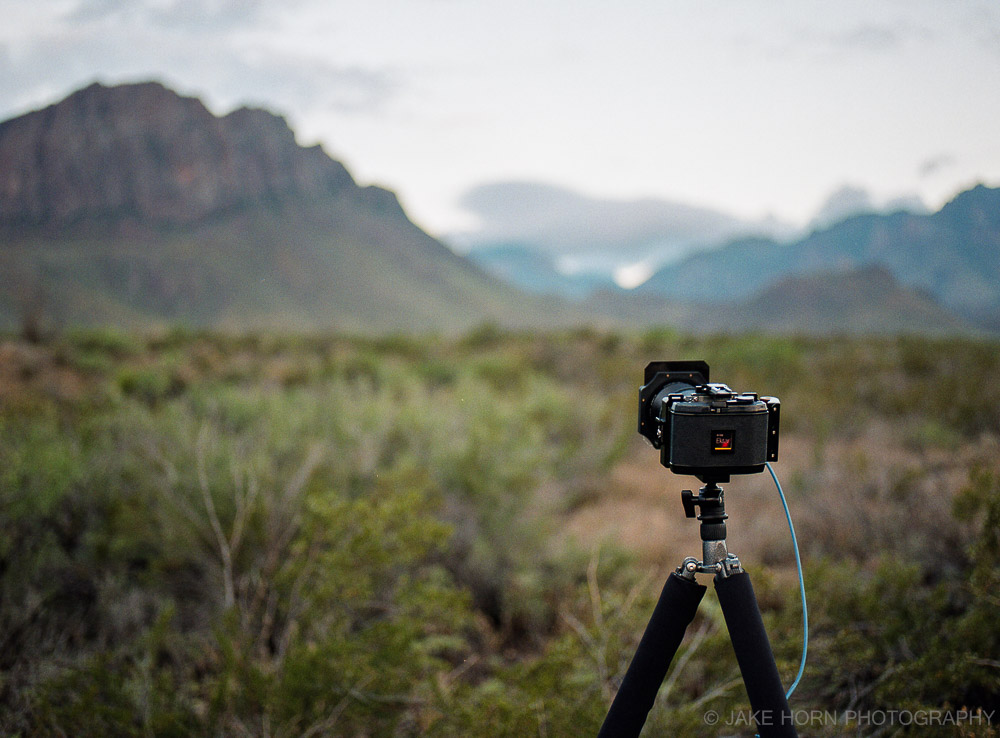 Shooting Ektar 100 in Big Bend National Park