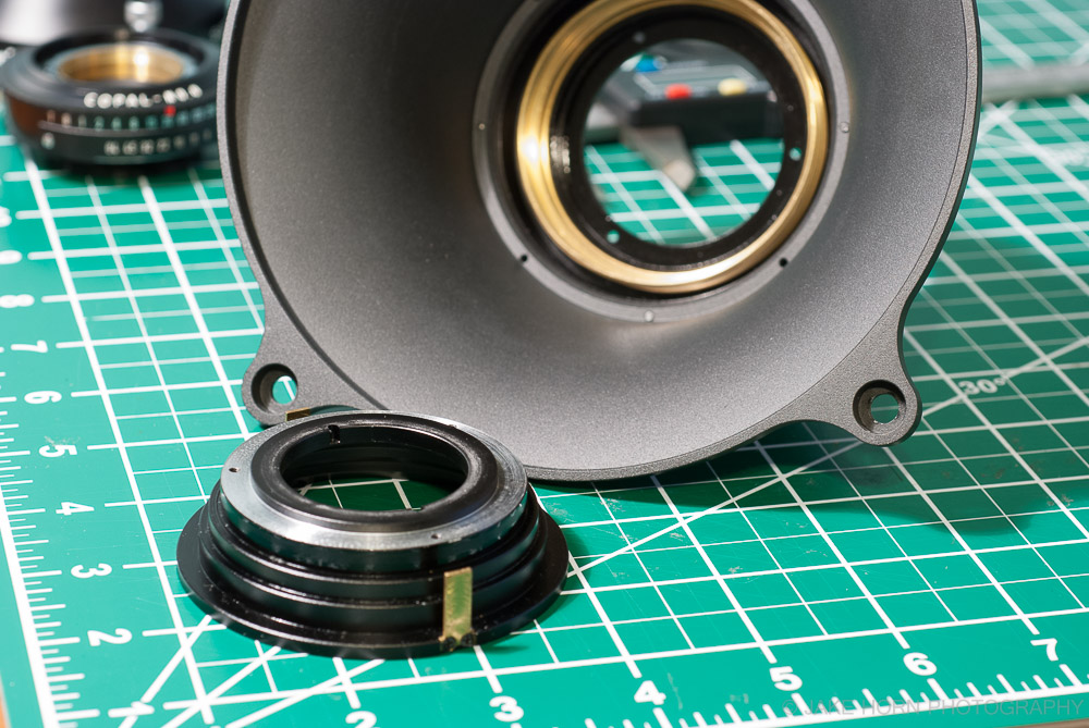 Removing the lens guide