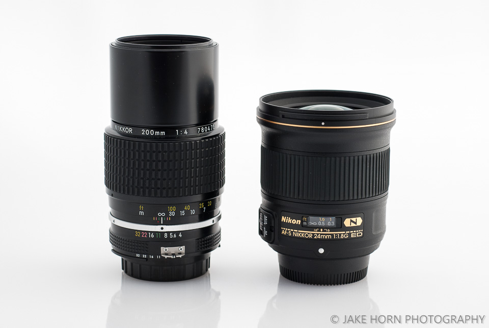 Size Comparison to Nikon 24mm 1.4G