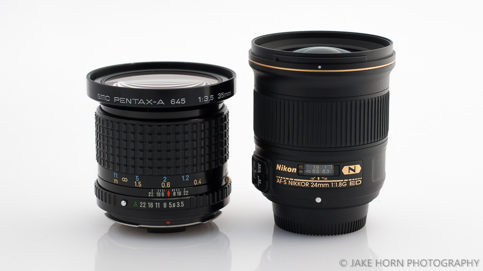 Size Comparison to the Nikkor 24mm 1.4G